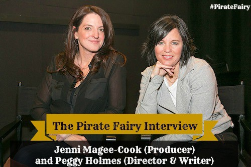 Pirate Fairy Interview with Jennifer Magee-Cook and Peggy Holmes - 5 Minutes for Mom - #PirateFairy