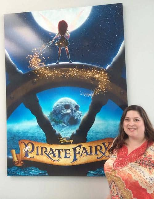 Pirate Fairy Tour at Disneytoon Studios- Dawn Cullo for 5 Minutes for Mom - #PirateFairy