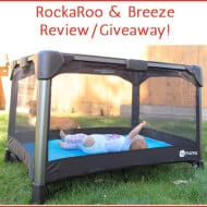 4Moms RockaRoo & Breeze #Review and #Giveaway