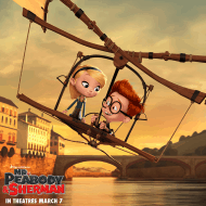 Ariel Winter and Max Charles Get Animated #MrPeabody + #Giveaway