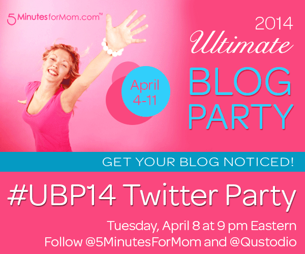 Ultimate Blog Party 2014 – Twitter Party
