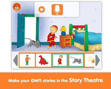 Caillou: What's That Funny Noise? Preschool Reading App