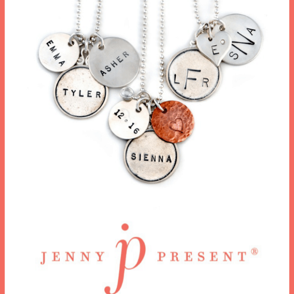 Customized Jewelry by Jenny Present #Giveaway