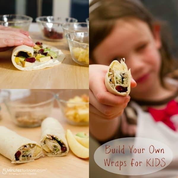 recipes for kids-wraps