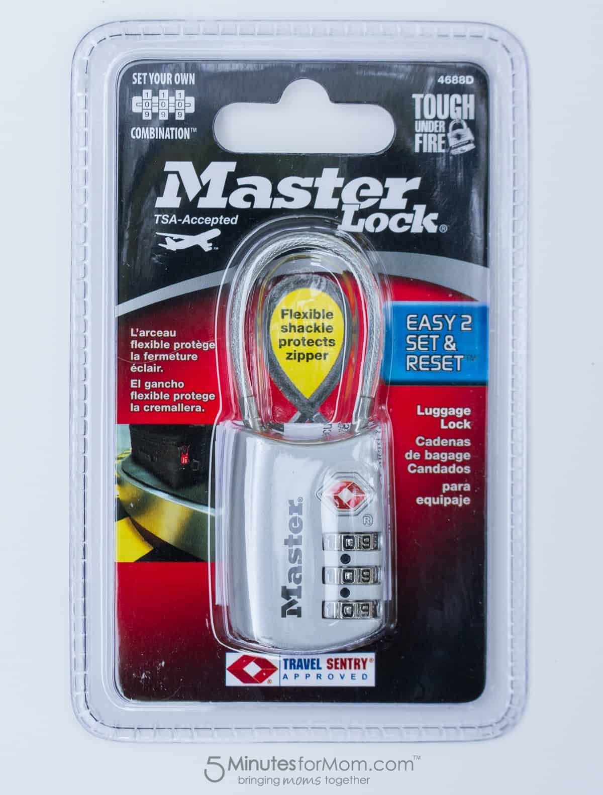 master lock luggage lock