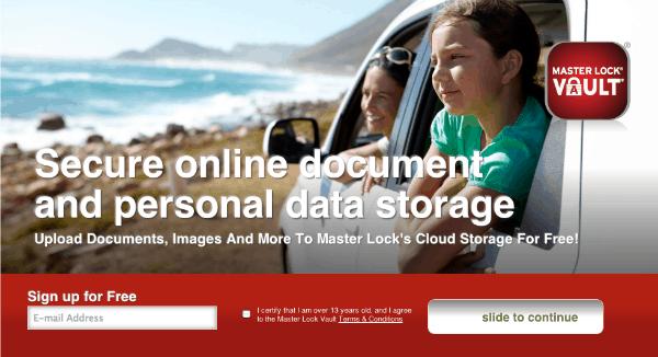 secure-data-masterlockvault