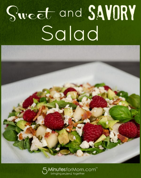 sweet-savory-raspberry-bacon-salad