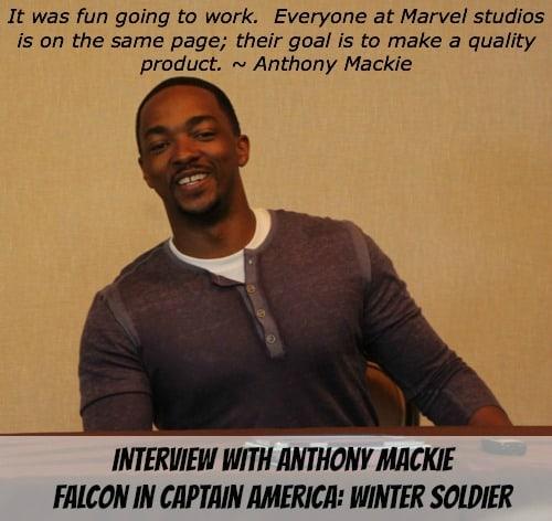 Anthony Mackie Quote Interview Photo  - #CaptainAmericaEvent