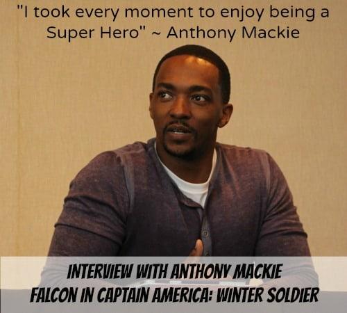 Anthony Mackie Quote - Interview Photo - #CaptainAmericaEvent