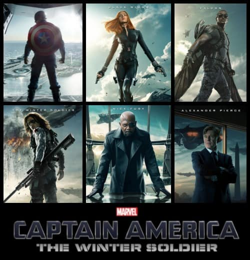 Captain America : The Winter Solider  - #CaptainAmericaEvent