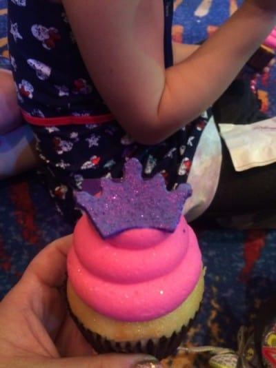 Cupcake for Elle Fannings Birthday