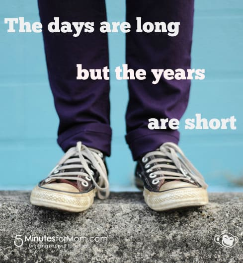 Days are long years are short