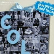 Easy DIY Photo Board Tutorial