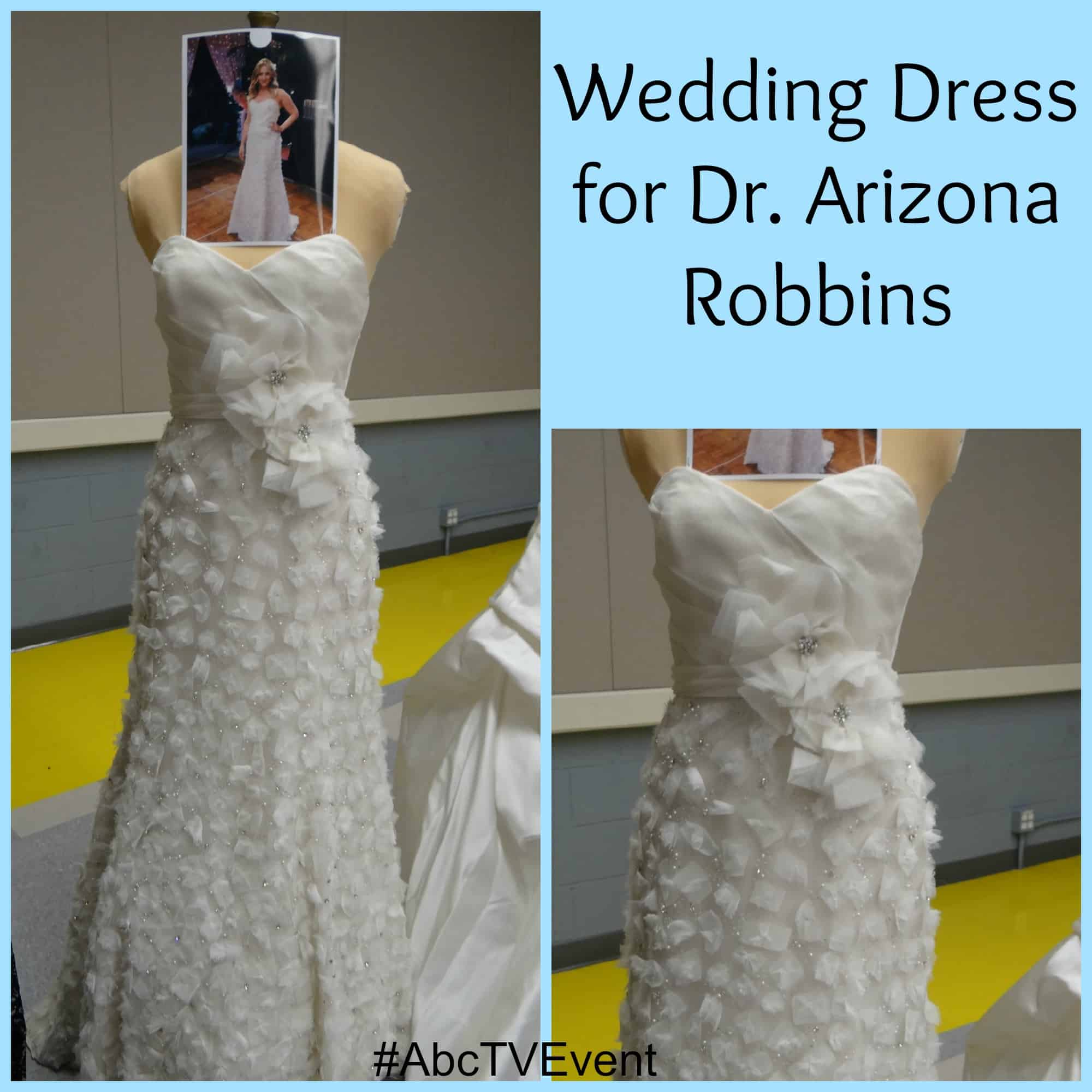 Grey's Tour - Costume - Arizona's Wedding Dress