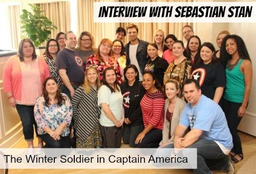 Group Sebastian Stan - #CaptainAmericaEvent