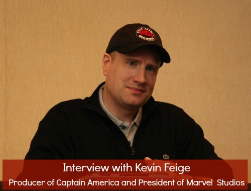 Interview with Kevin Feige - Producer of Captain America - #CaptainAmericaEvent
