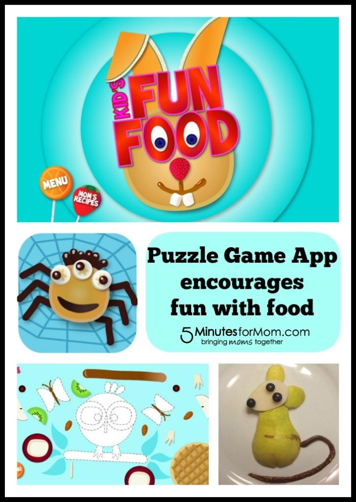 Kids Fun Food app