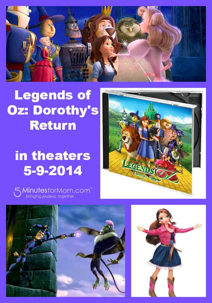 Legends of Oz movie