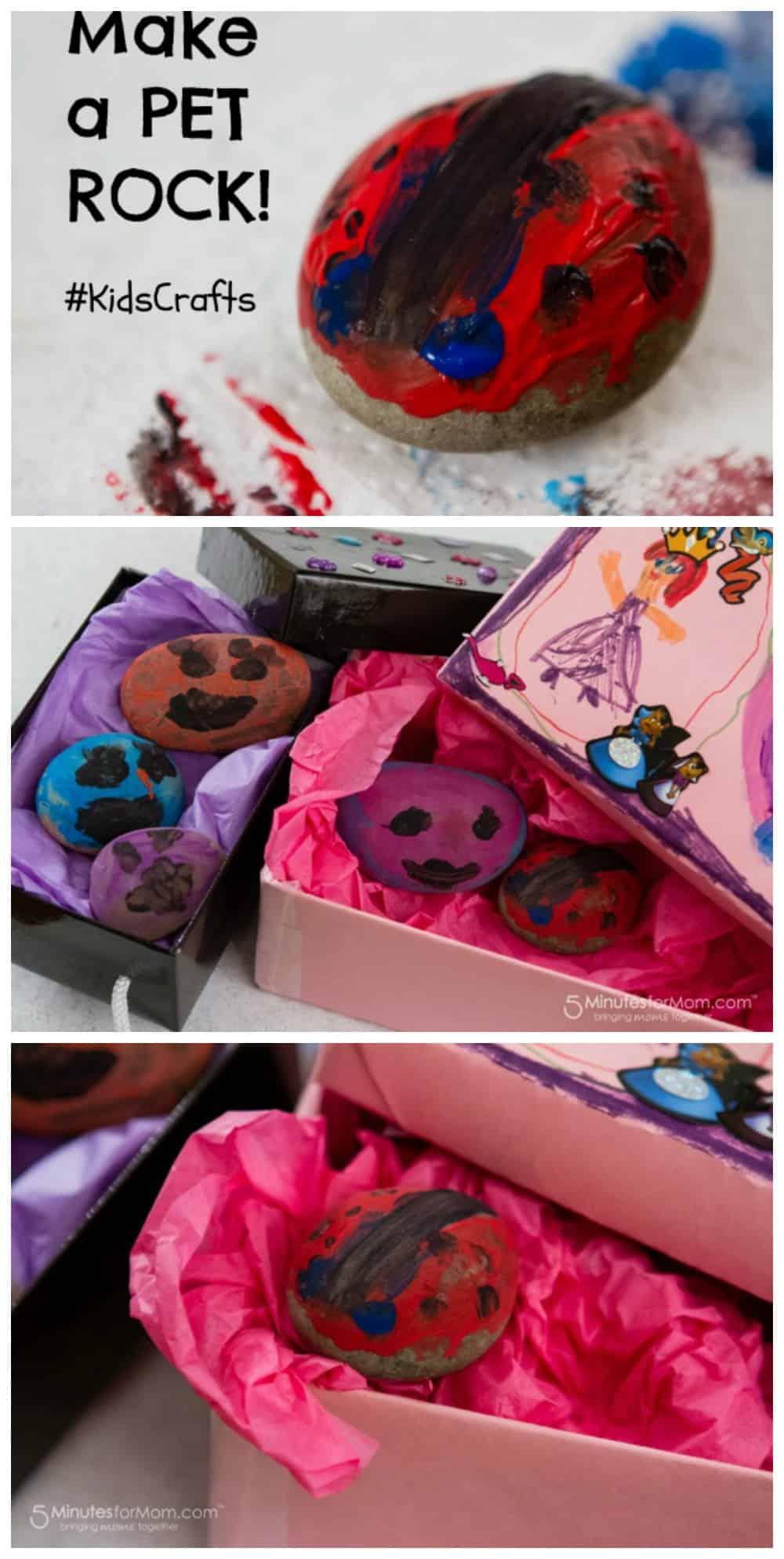 Make a Pet Rock - Craft for Kids