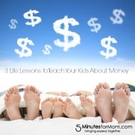 3 Life Lessons for Kids about Money