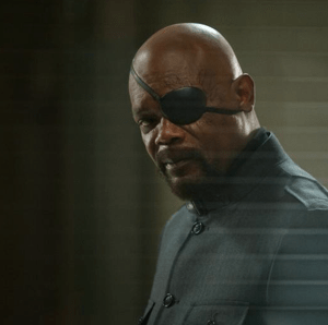 Nick Fury - #CaptainAmericaEvent