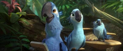 RIO 2 Blu with GPS and family
