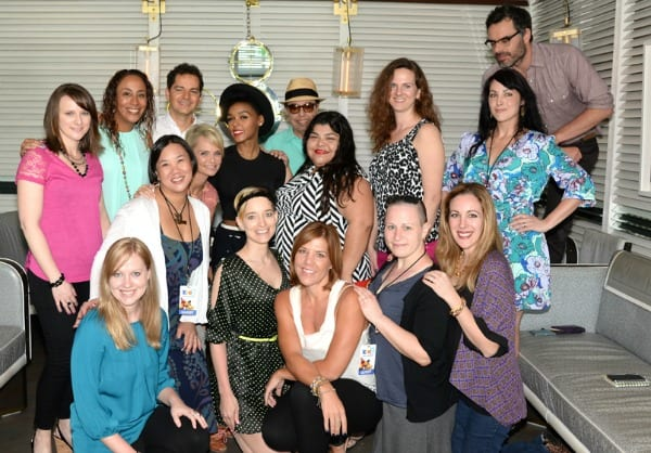 RIO2 bloggers with musical cast