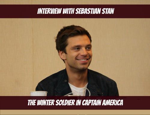 Sebastian Stan Interview Photo - #CaptainAmericaEvent