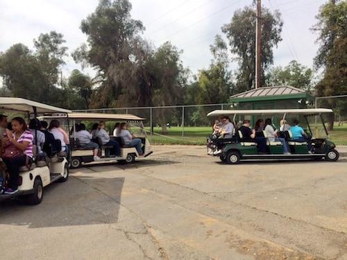 LA Zoo Trams