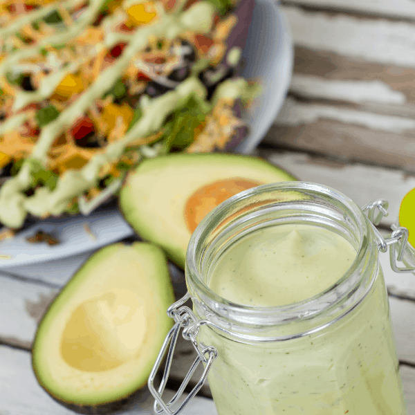 Avocado Yogurt Dressing and Dip Recipe