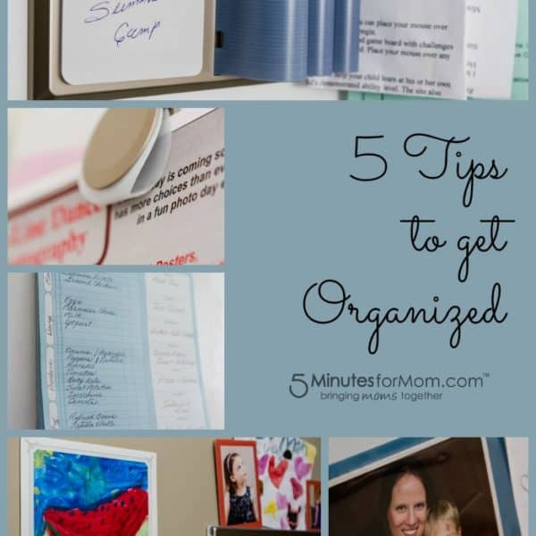 5 Organizing Tips for Moms