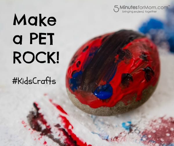 Pet Rock Kids Craft