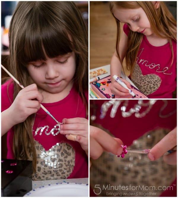 painting pet rocks
