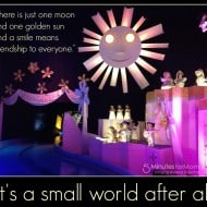 Wordless Wednesday – It's a Small World #Disneyland #DisneySMMoms