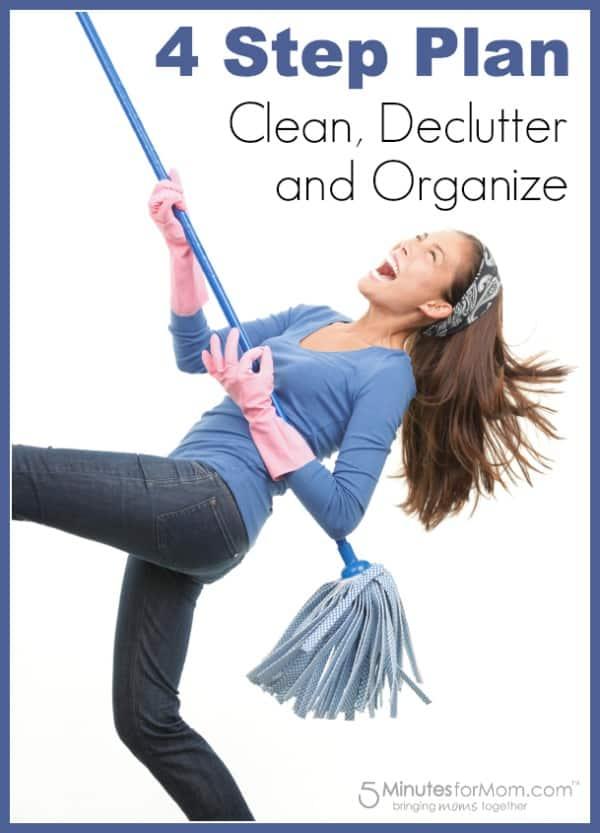 Clean Declutter Organize
