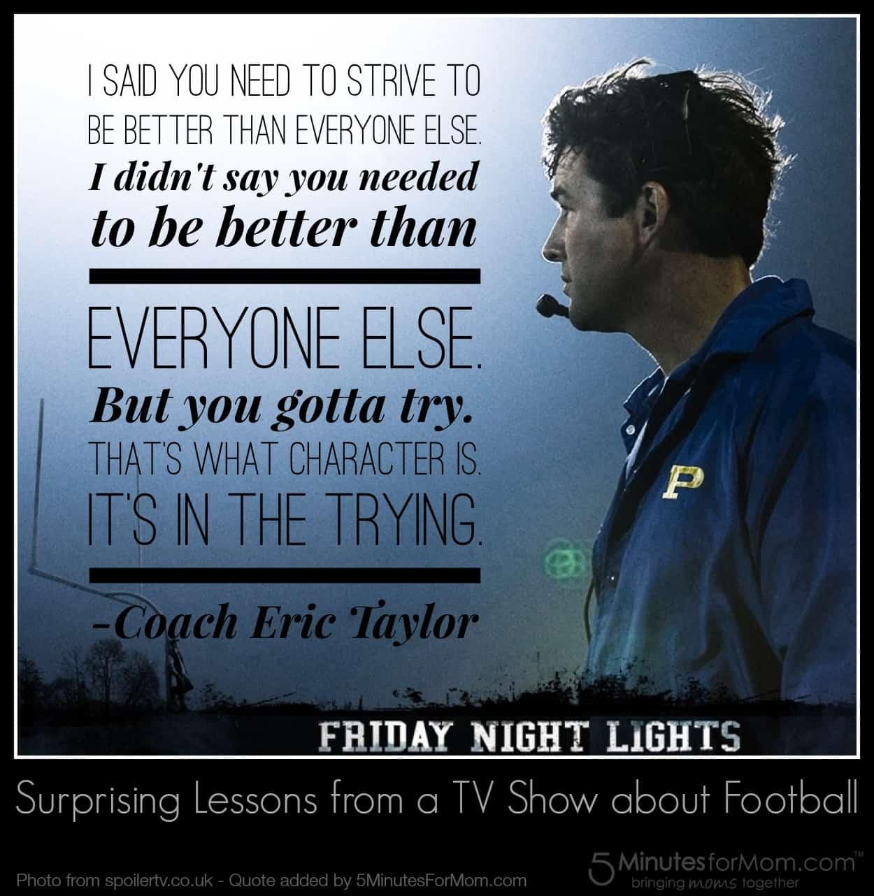 Friday Night Lights Quote