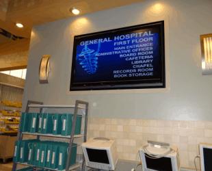 General Hospital Set Tour #ABCTVEVENT - Hospital Interior - Directory