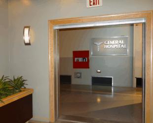 General Hospital Set Tour #ABCTVEVENT - Hospital Interior - Sign
