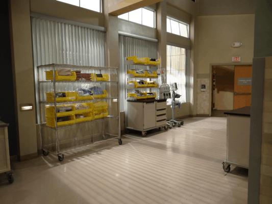 General Hospital Set Tour Abctvevent Hospital Interior