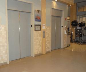 General Hospital Set Tour #ABCTVEVENT - Hospital interior - Elevators