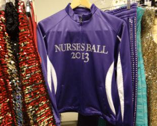 General Hospital Set Tour #ABCTVEVENT - Nurses Ball 2013 Jacket