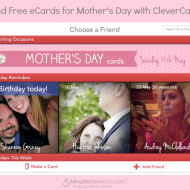 Send Free eCards with CleverCards for #MothersDay