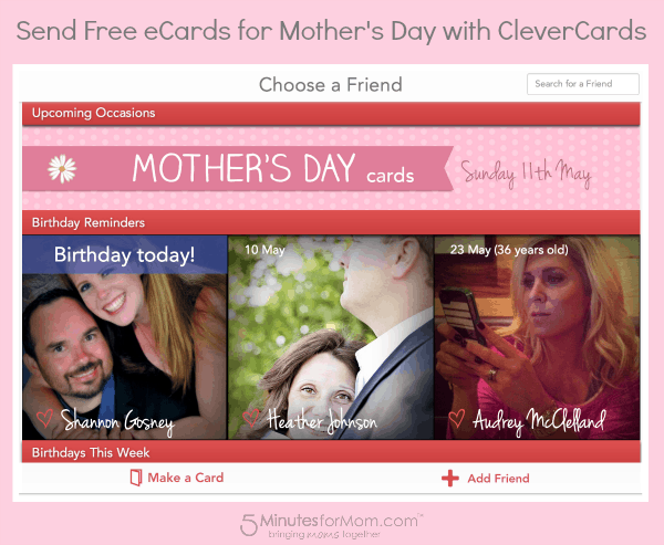 CleverCards Mothers Day