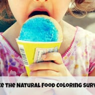 A National Survey on Natural Food Coloring: Your Opinion Matters!