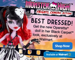 Monster High is taking over Hauntlywood!