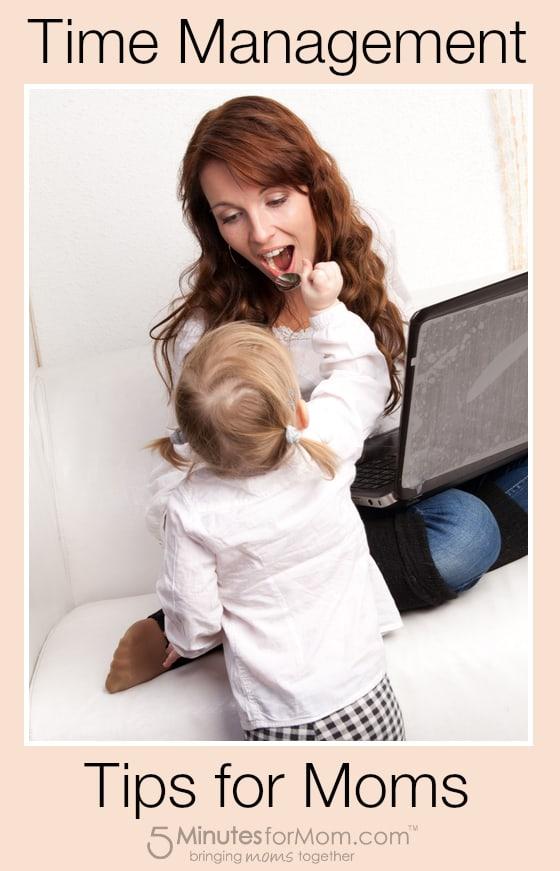 Time Management Tips for Moms