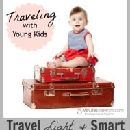 Ask the Domestic Life Stylist: Travel Light & Smart with Young Kids