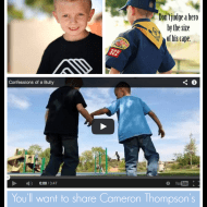 Confessions of a Bully – Cameron Thompson, 7 Year-Old Anti-Bully Activist