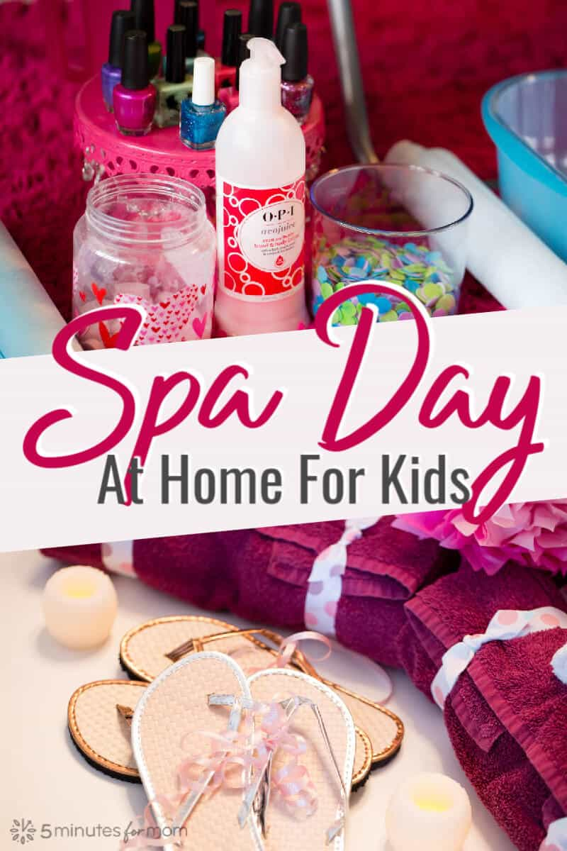 DIY Spa Day For Kids