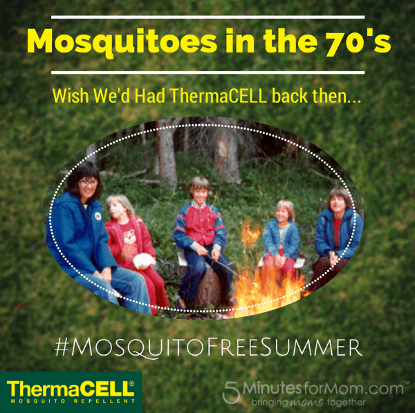Mosquitoes in the 70s Campfire